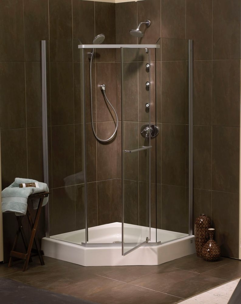 Mirolin 36 Neo Angle Shower Doors