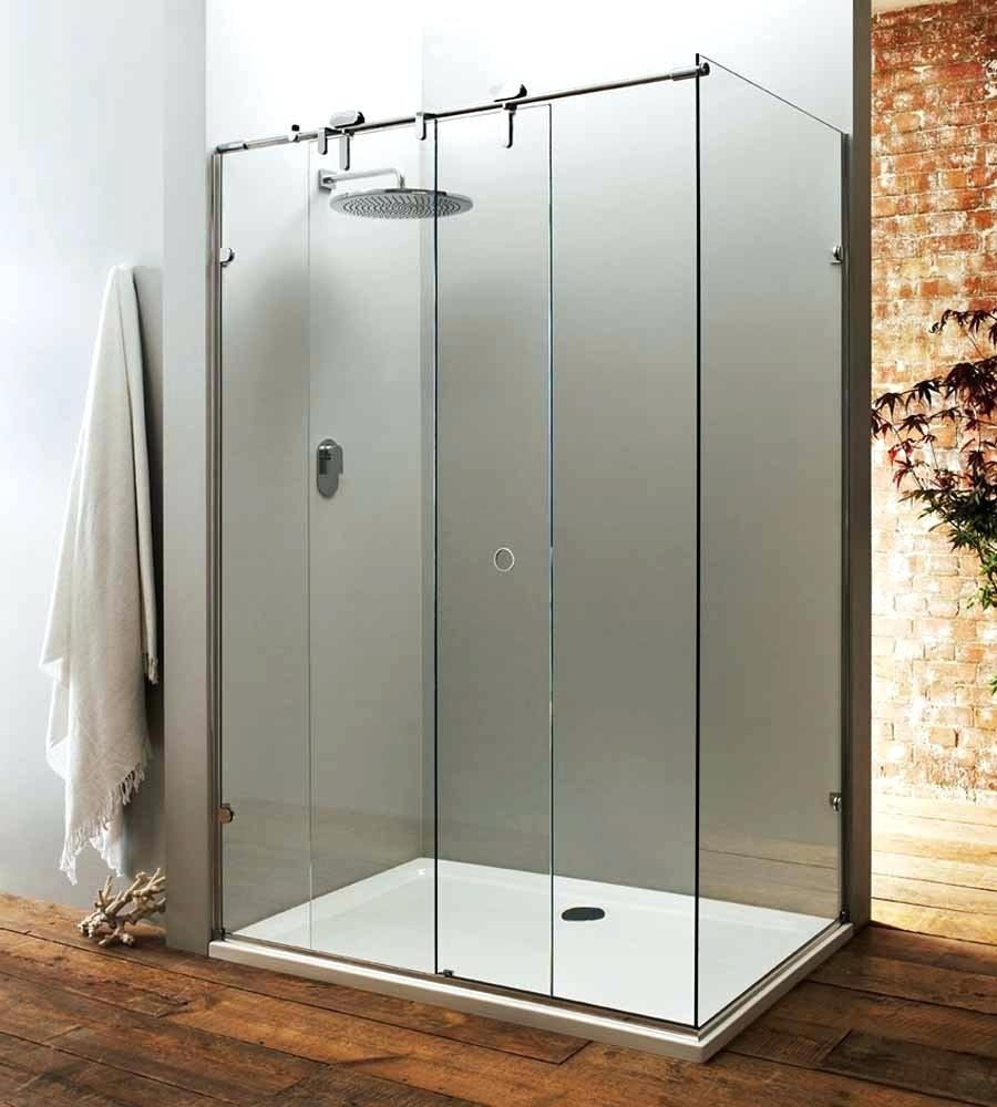 Non Sliding Glass Shower Doors