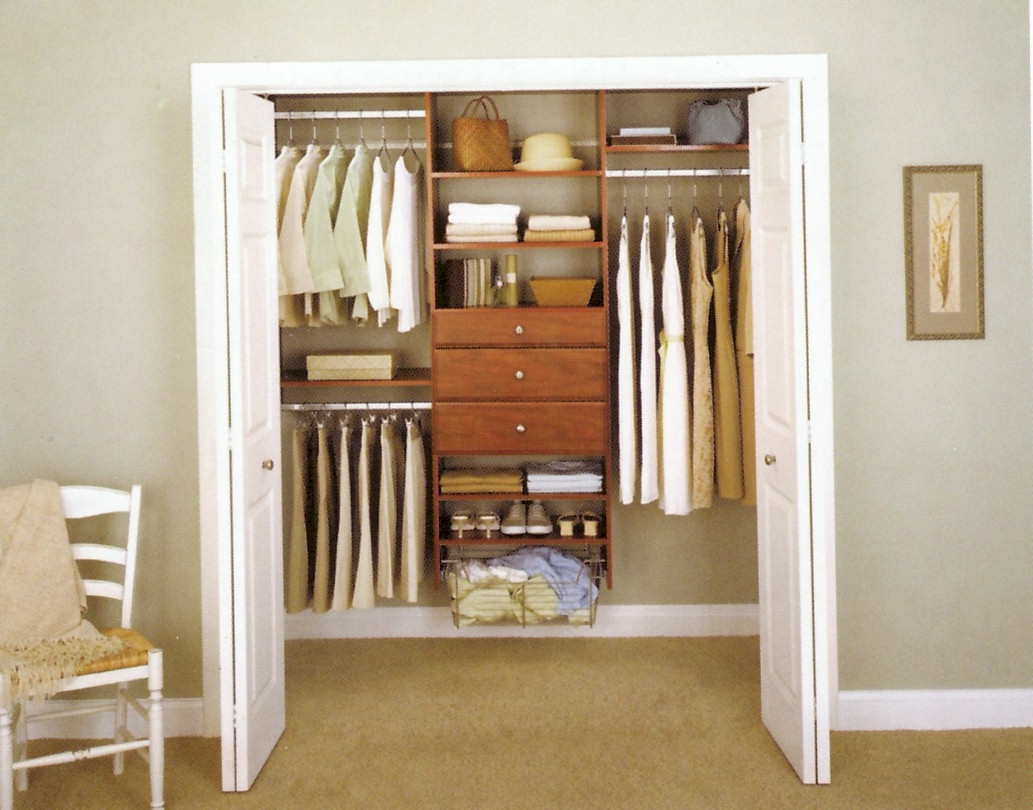 Organizing A Small Closet With Sliding Doors