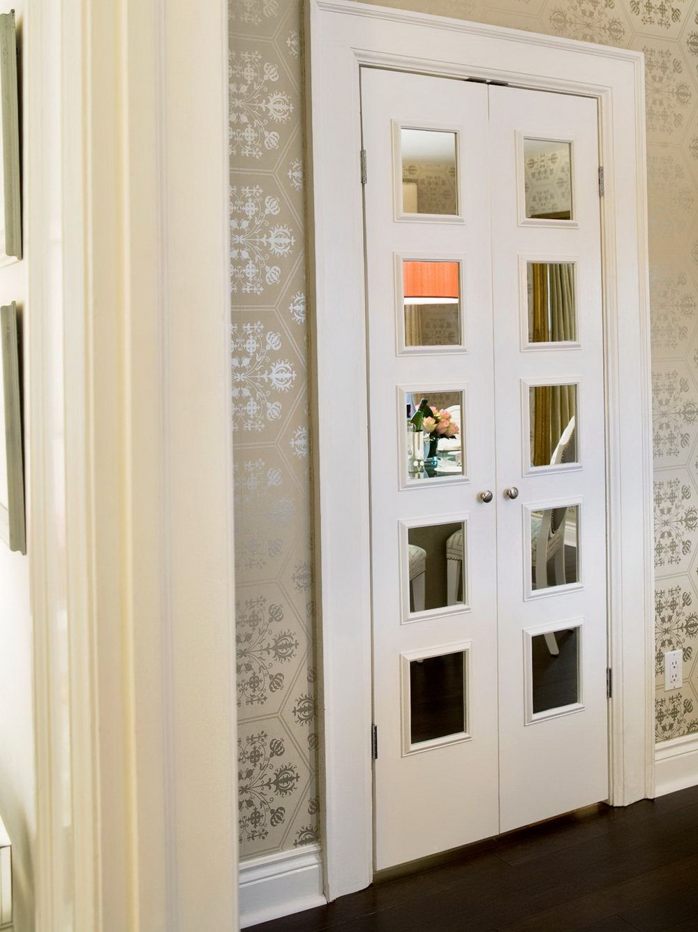 Small French Doors For Closet