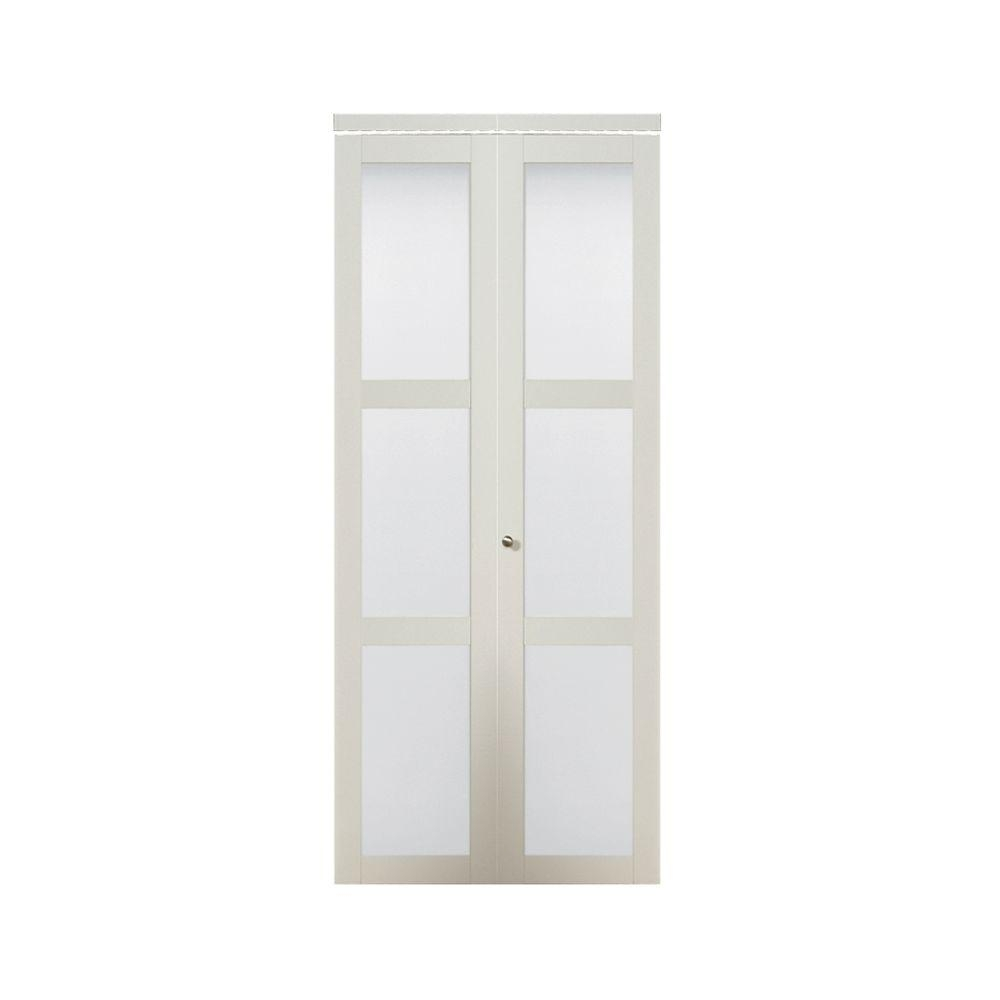 Tempered Frosted Glass Closet Doors
