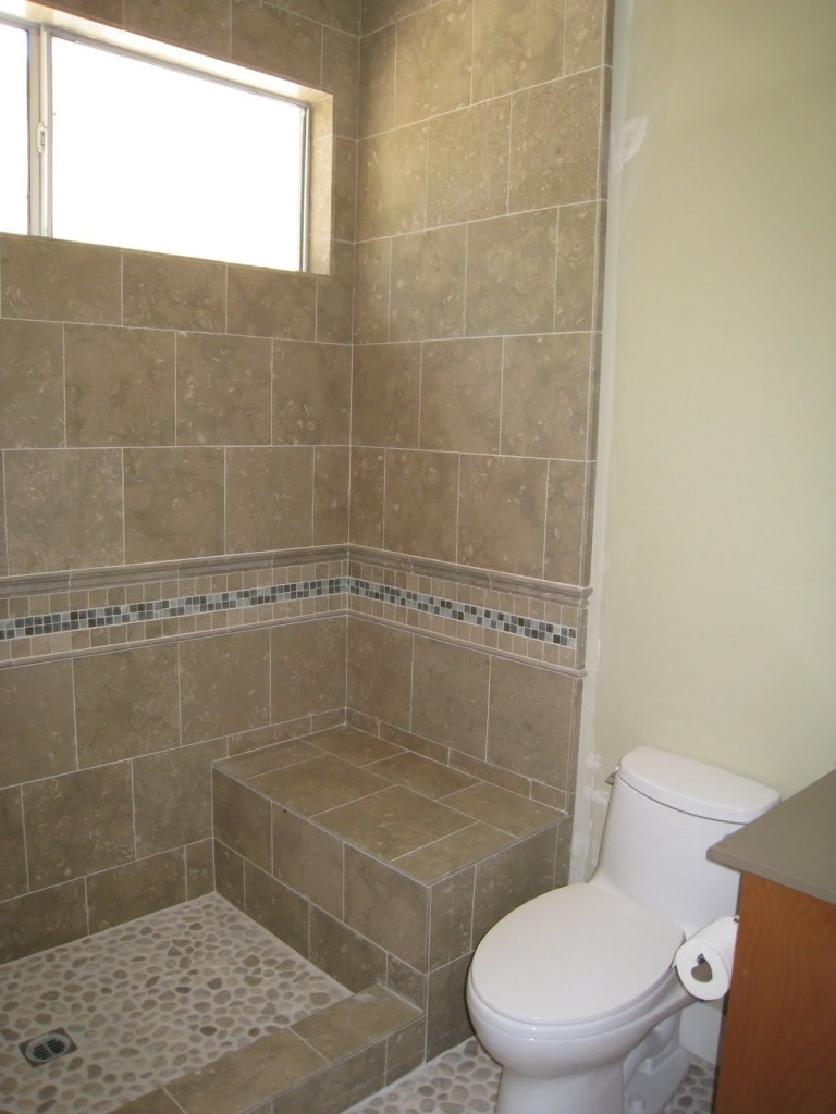 Tile Shower Stalls Without Doors