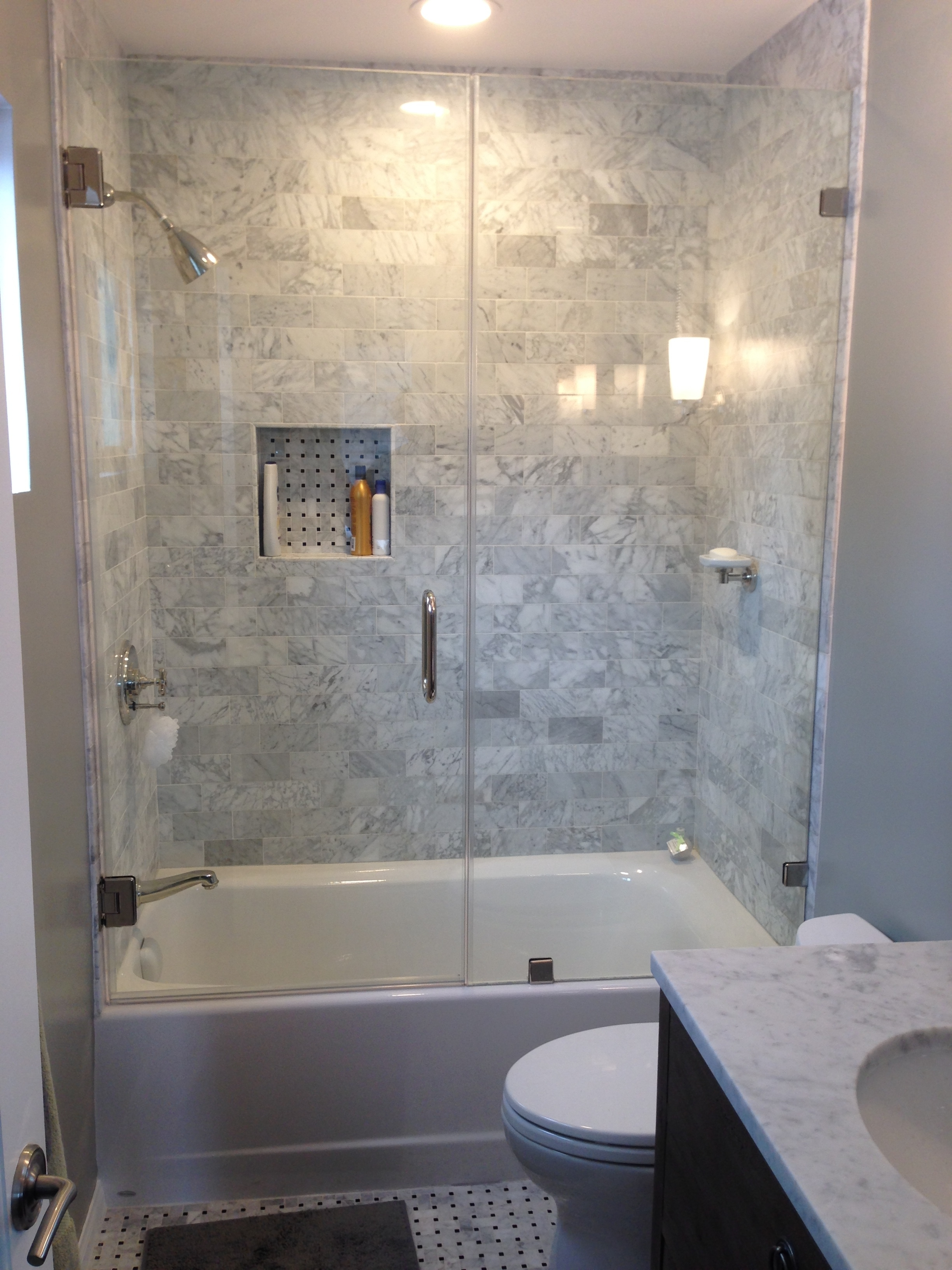 Tub Shower Glass Doorsshower doors project pacific palisades y9 inc