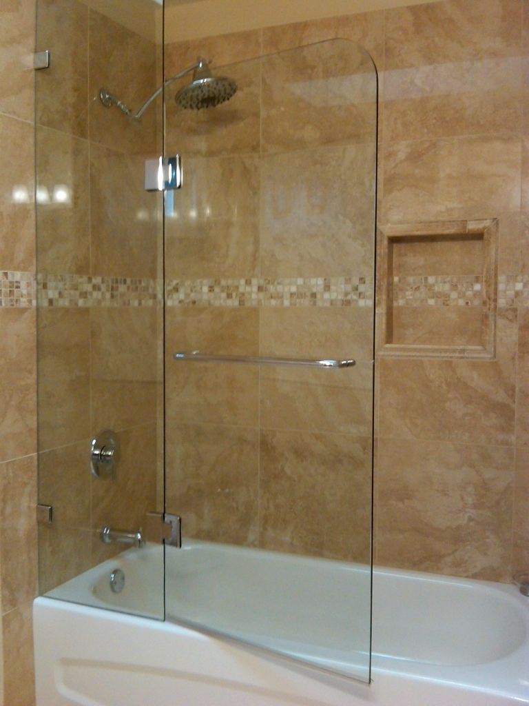 European Shower Door For Tub