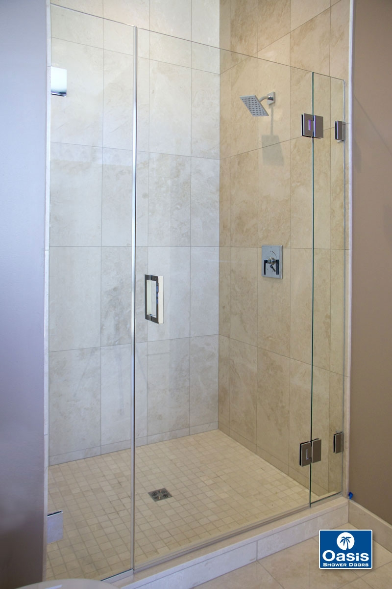Frameless Glass Shower Door Gap