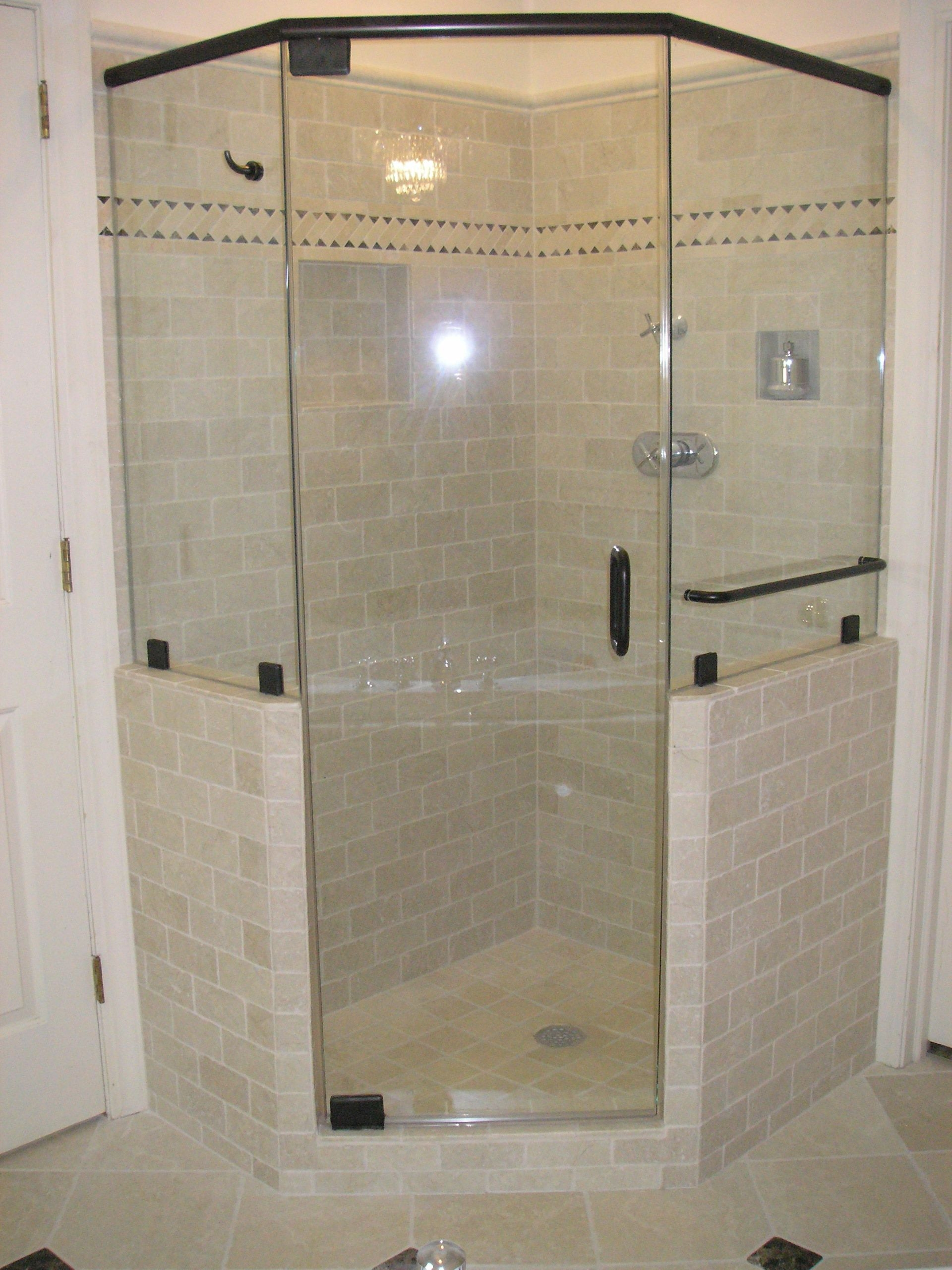 Frameless Shower Door Handle Loose