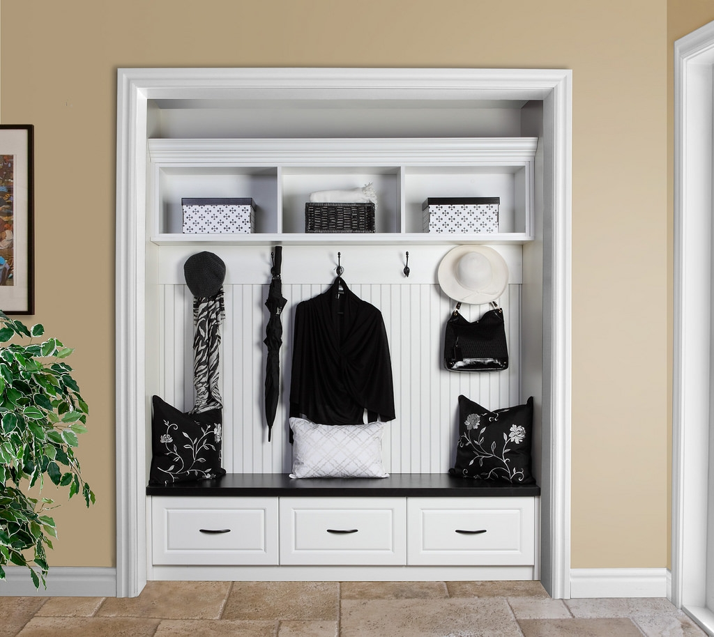 Front Hall Closet Without Doors