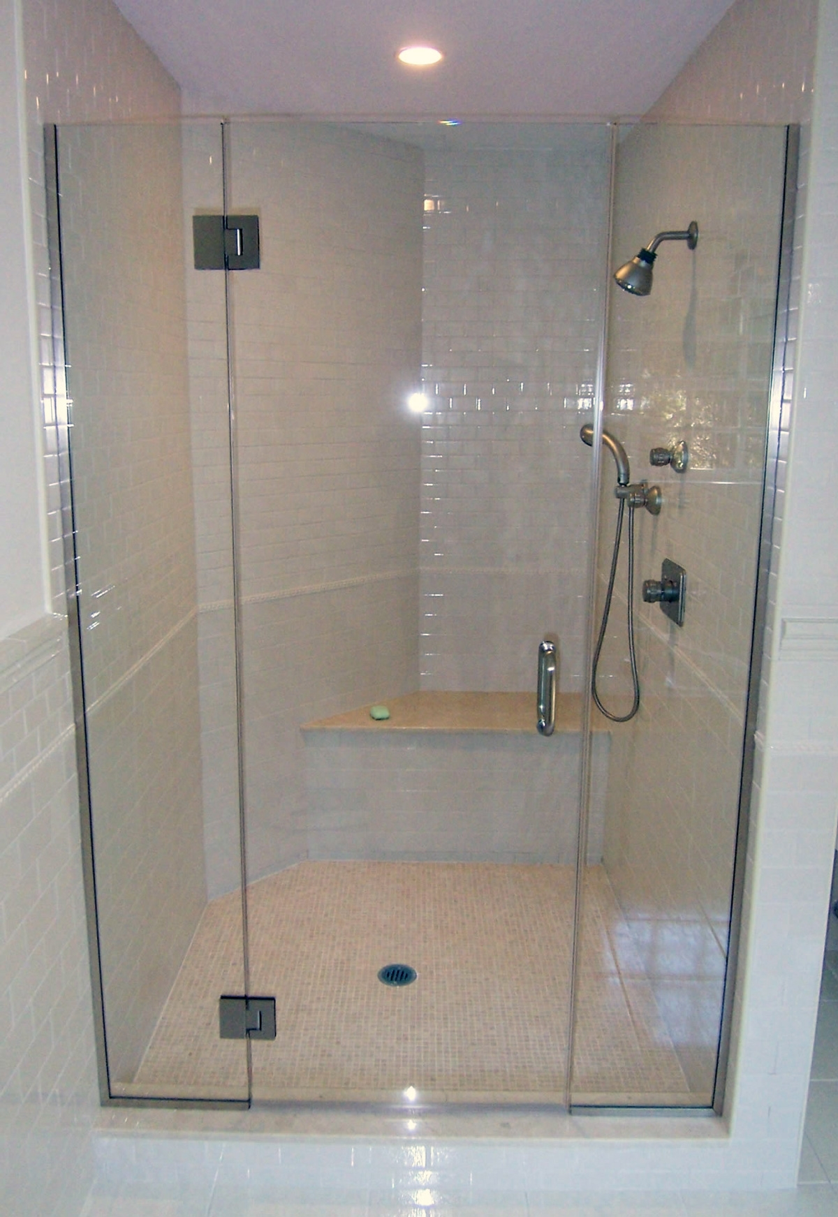 Narrow Frameless Shower Doors