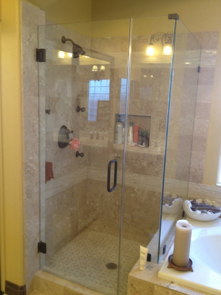 Shower With Glass Doors Ideas