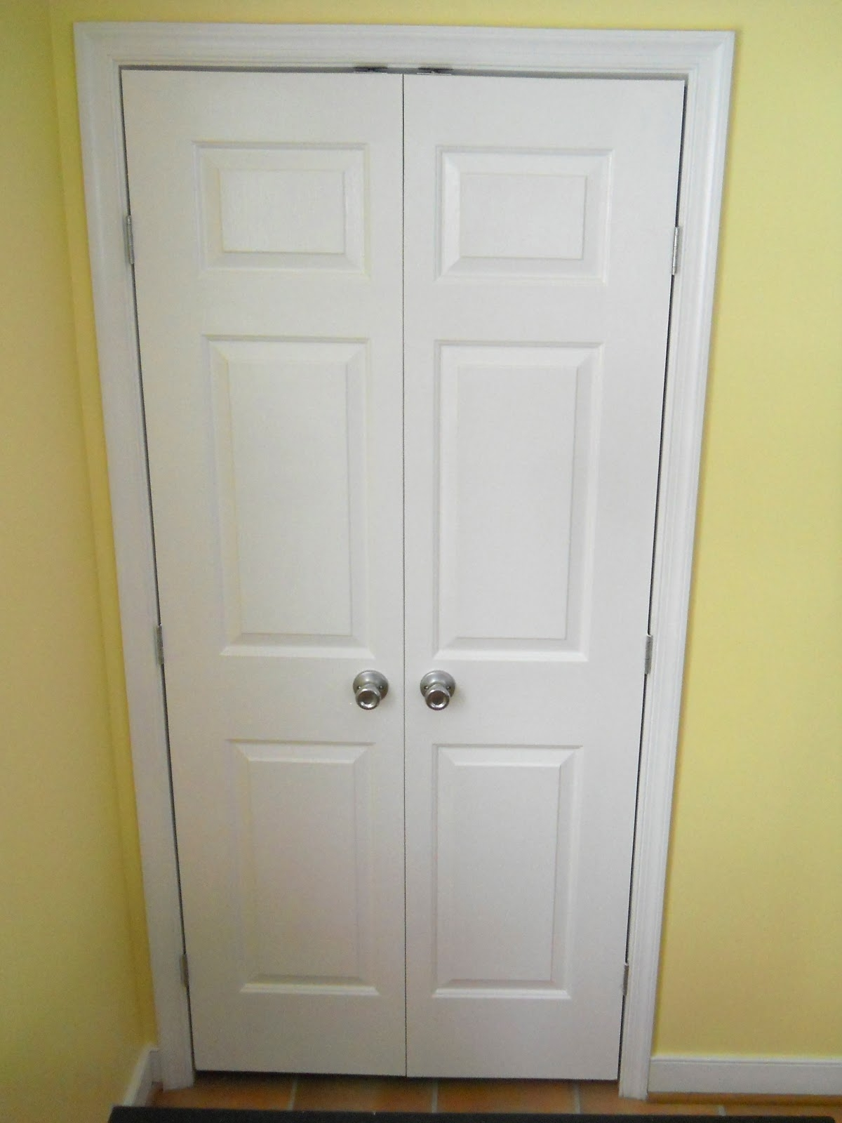 Single Closet Door To Double