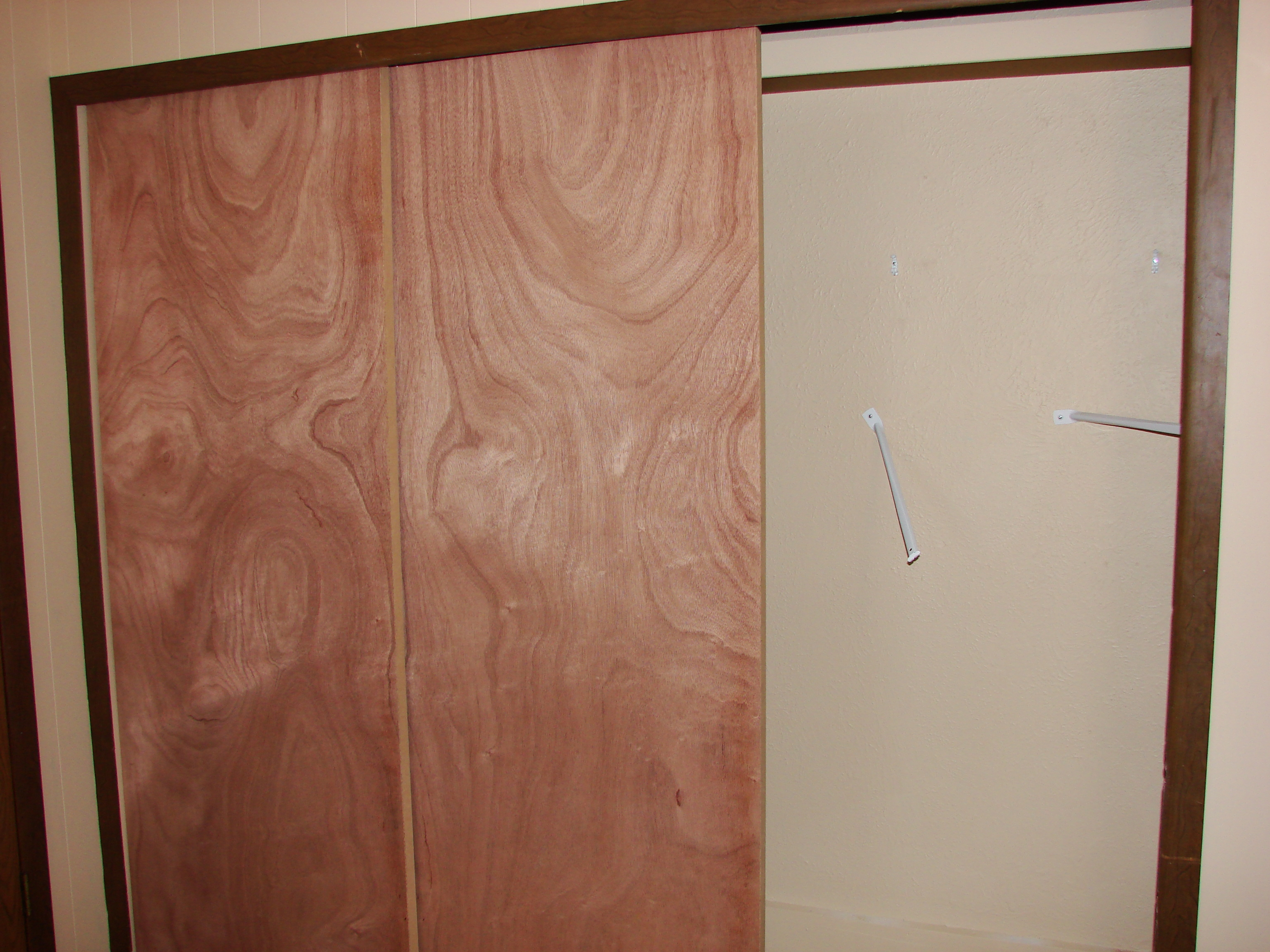 Sliding Bypass Closet Doors Wood