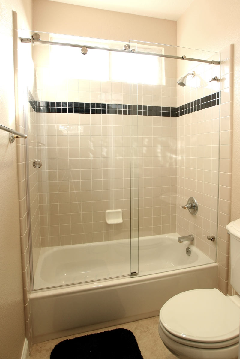 Standard Bathtub Shower Door Height