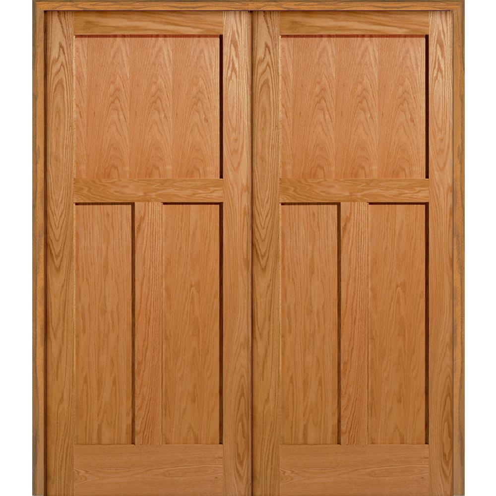 3 Panel Closet Door