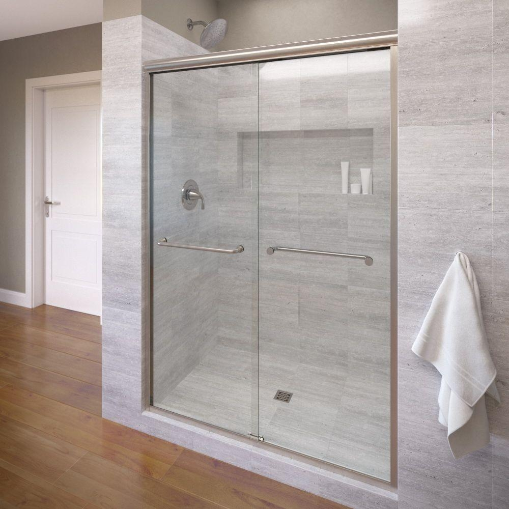 Frameless Shower Door Hardware Polished Nickel