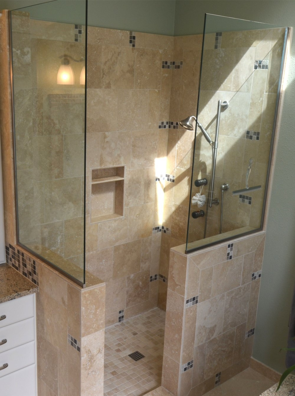 Half Height Glass Shower Door