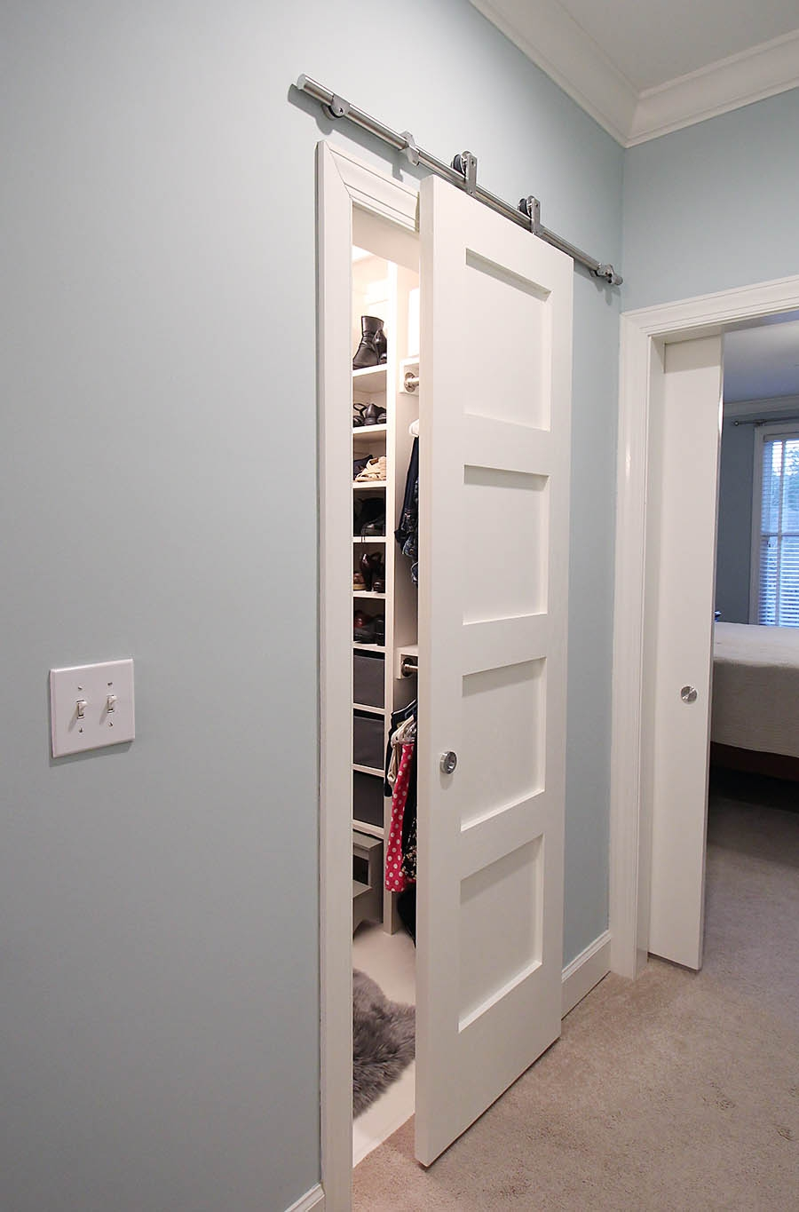 Closet Barn Door Plans
