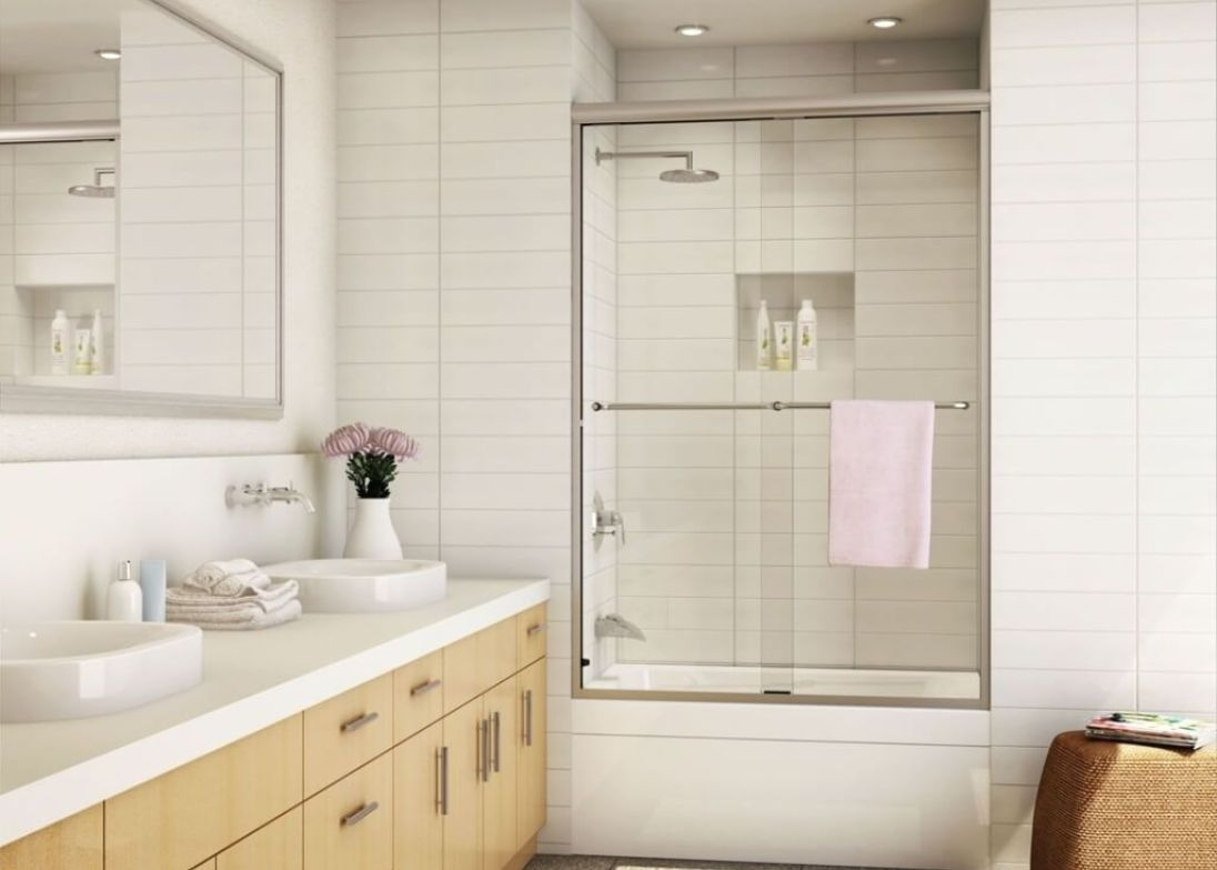 Kohler Levity Frameless Sliding Shower Door