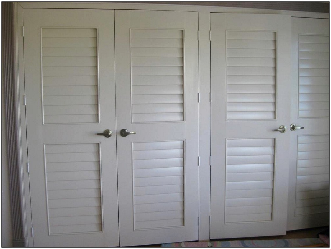 Large Louvered Closet Doors