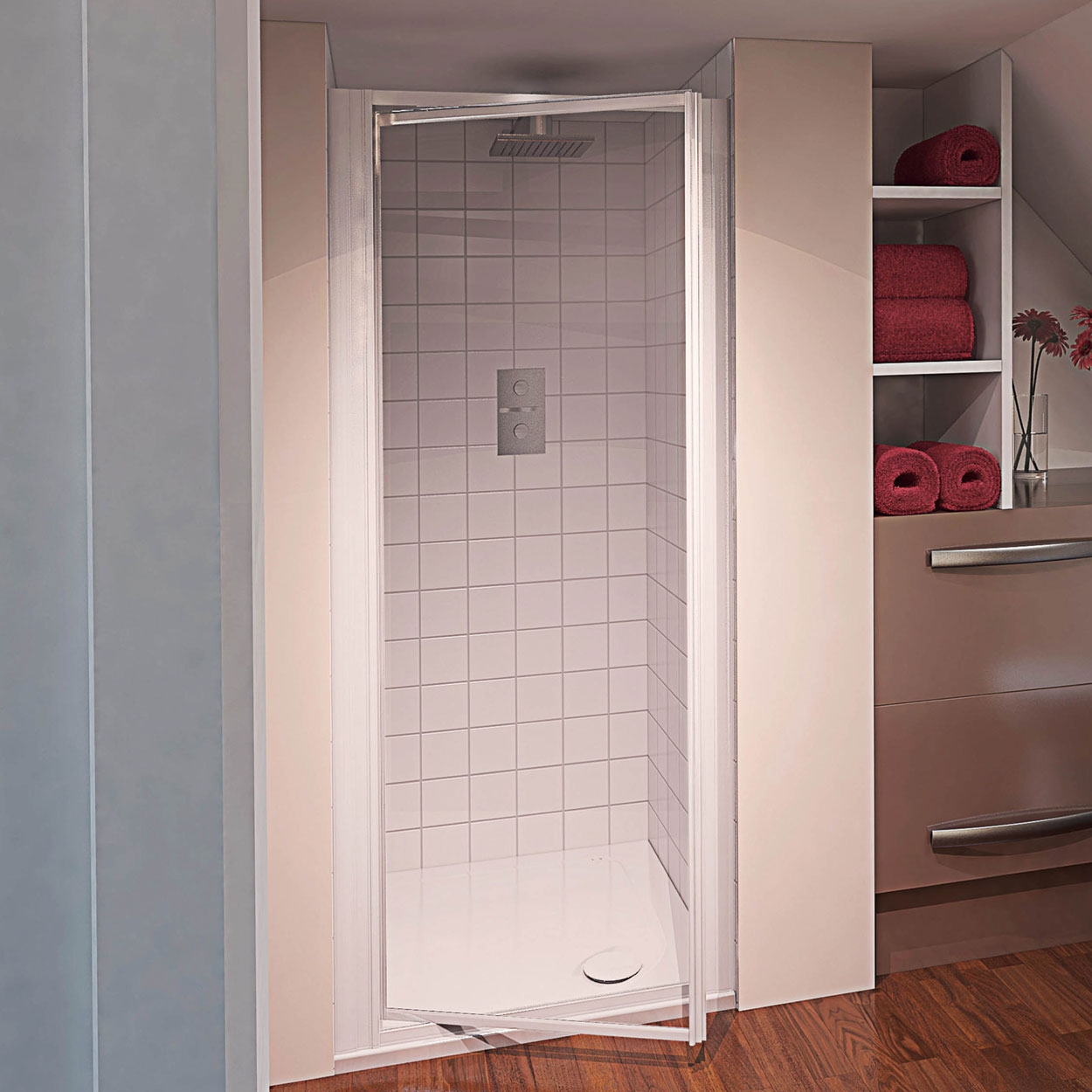 Pivot Shower Doors 760mm