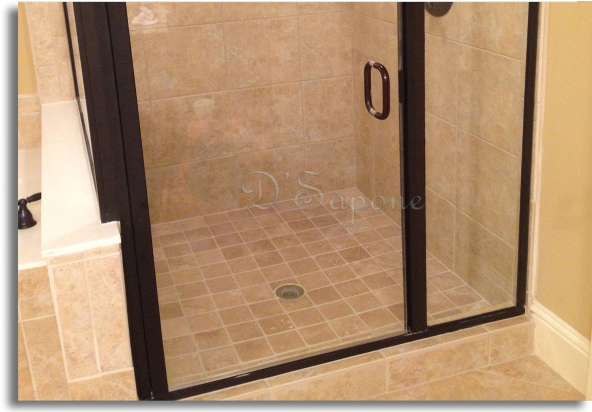 Shower Door Scum Prevention