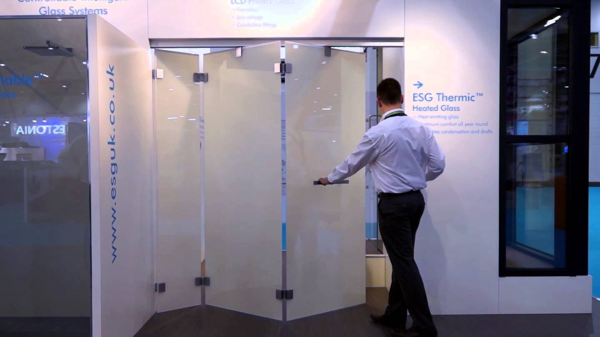 Switchable Privacy Glass Shower Doors