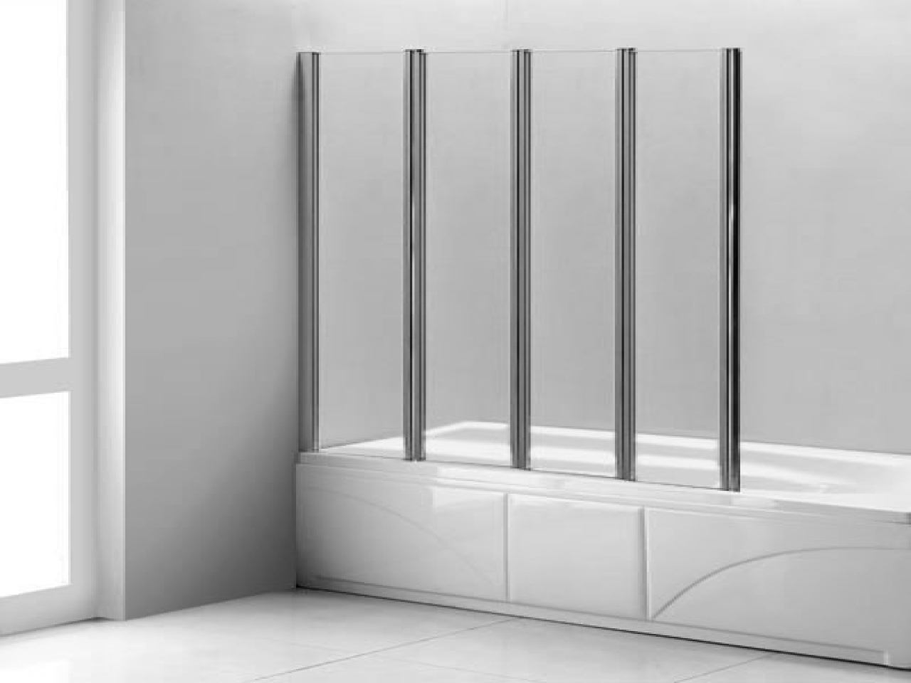 Accordion Shower Doors Glass