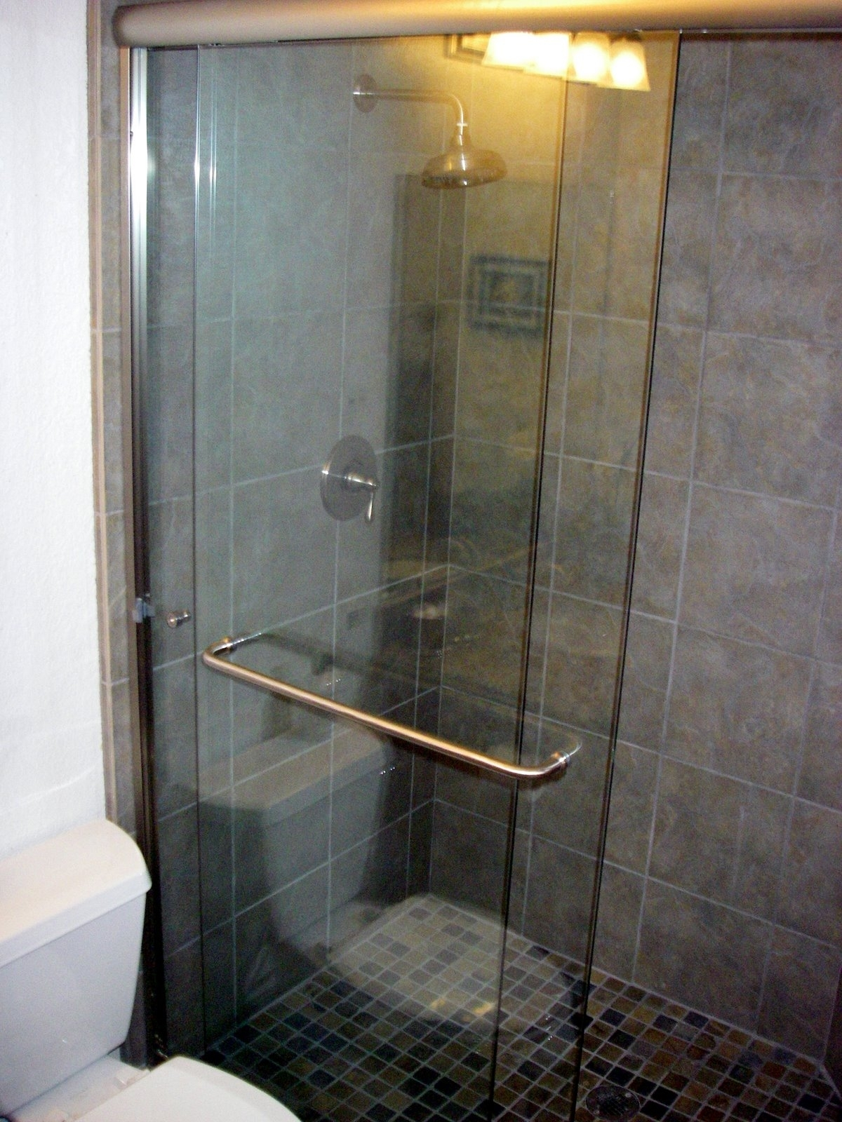 Acrylic Towel Bar For Shower Door
