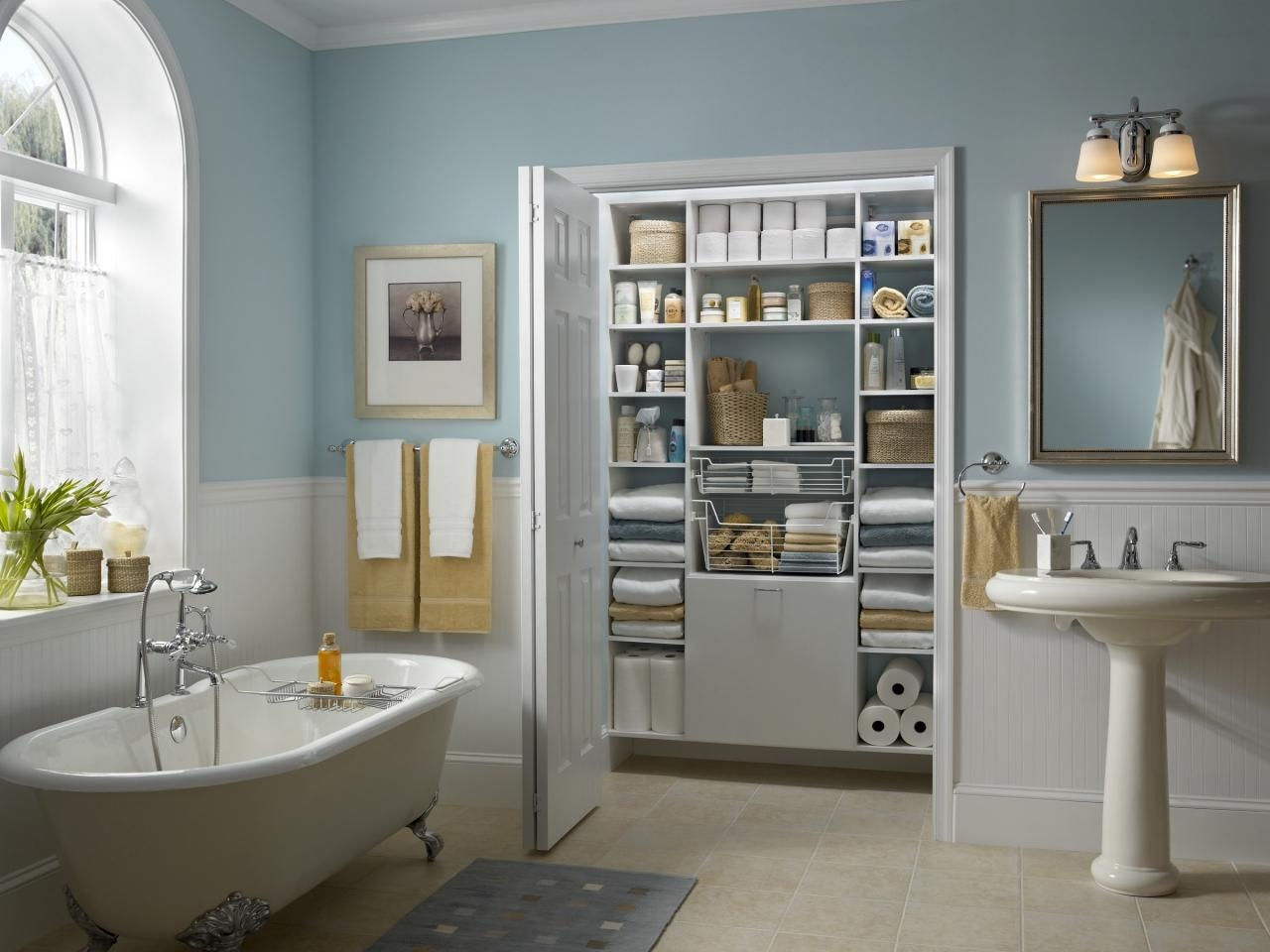 Alternatives To Bathroom Closet Doors
