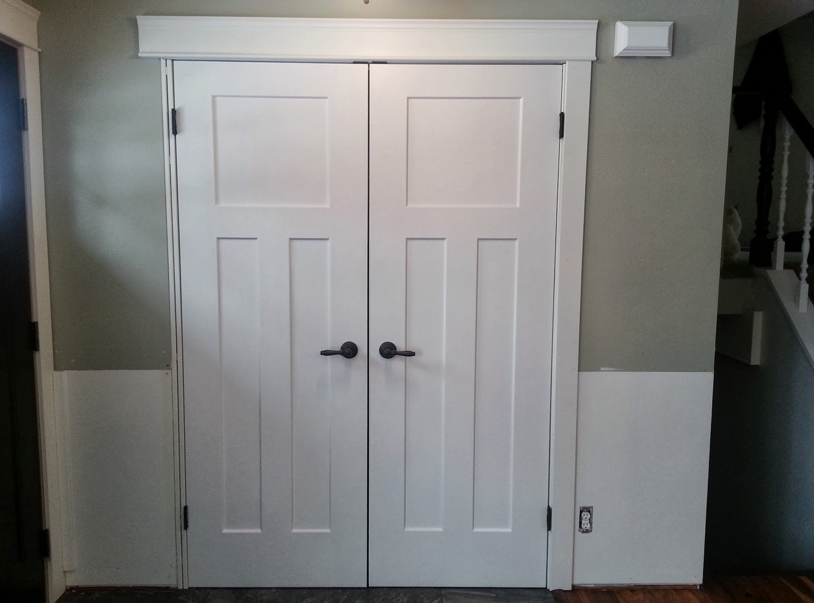 Closet Double Door Hardware