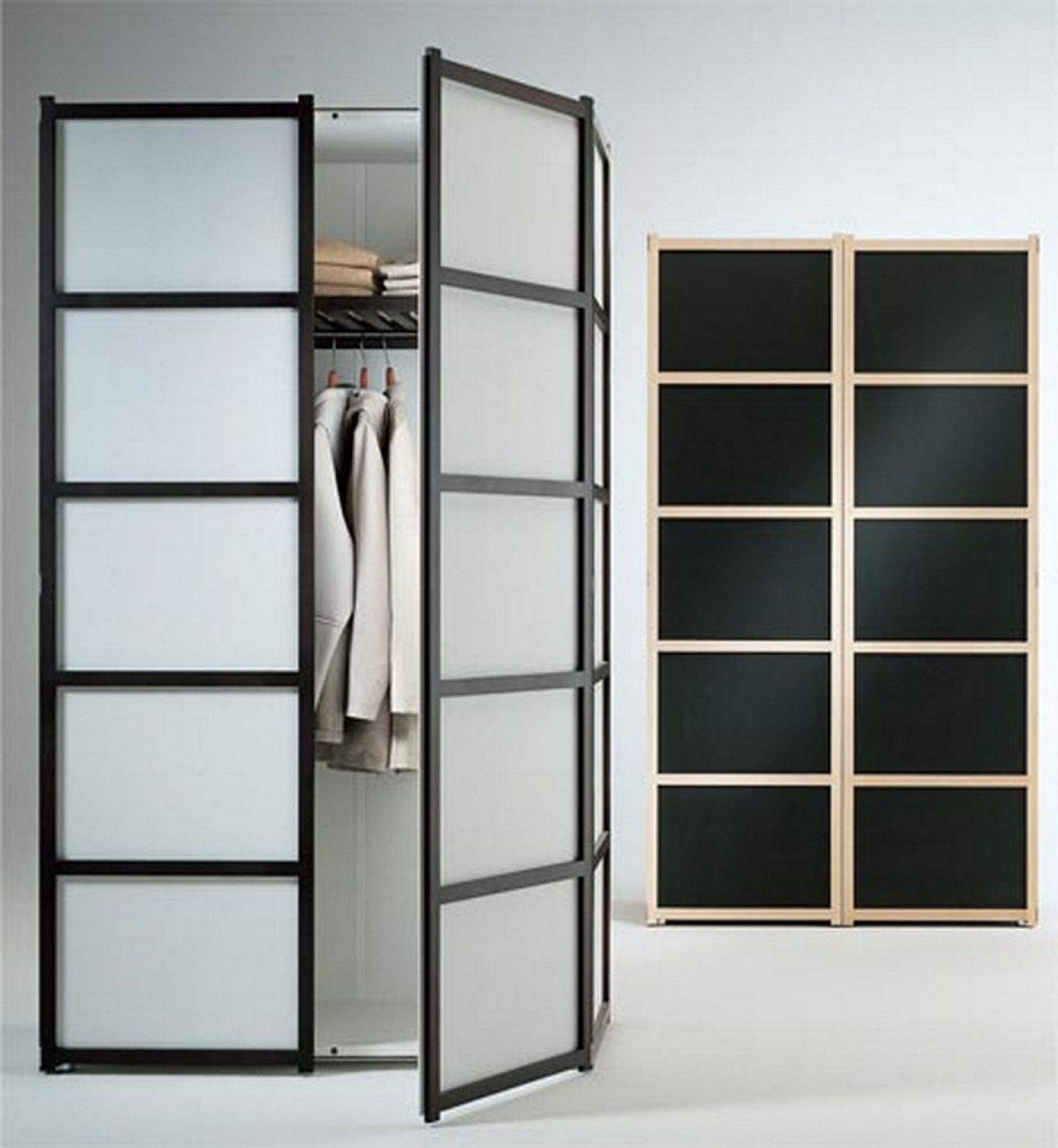 Closet Systems With Glass Doors