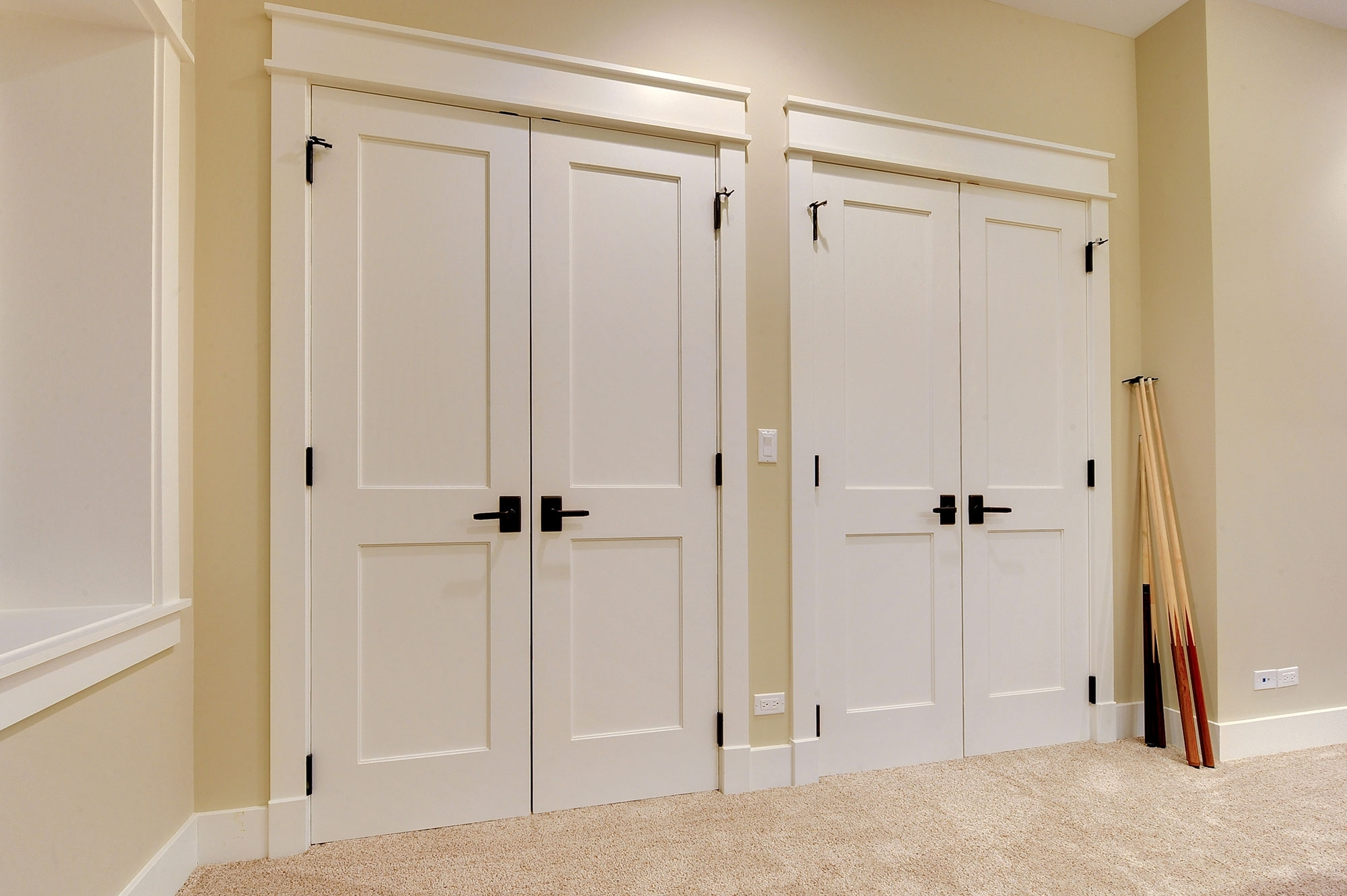 Custom Bifold Louvered Closet Doors