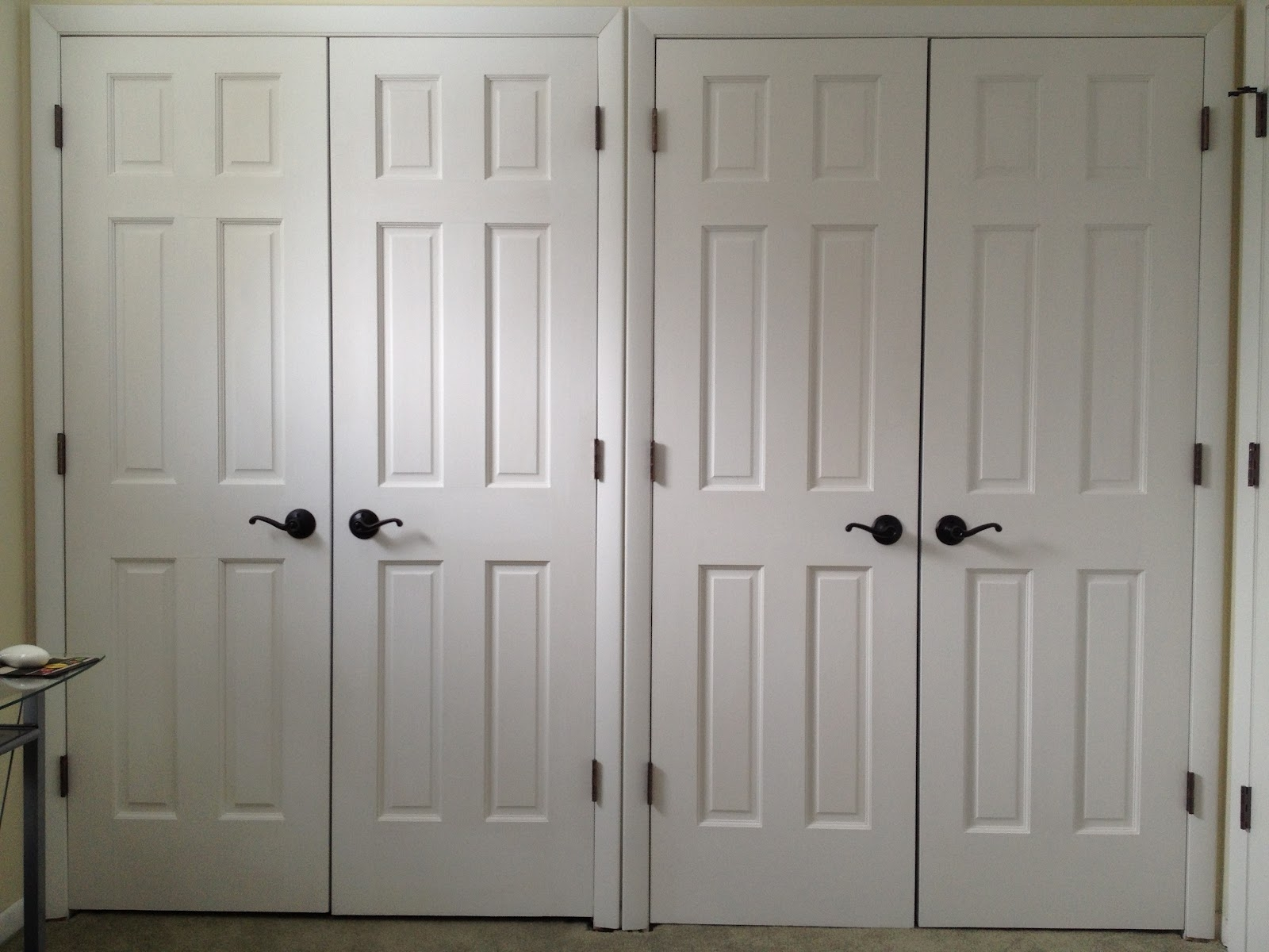 Double Closet Door Sizes
