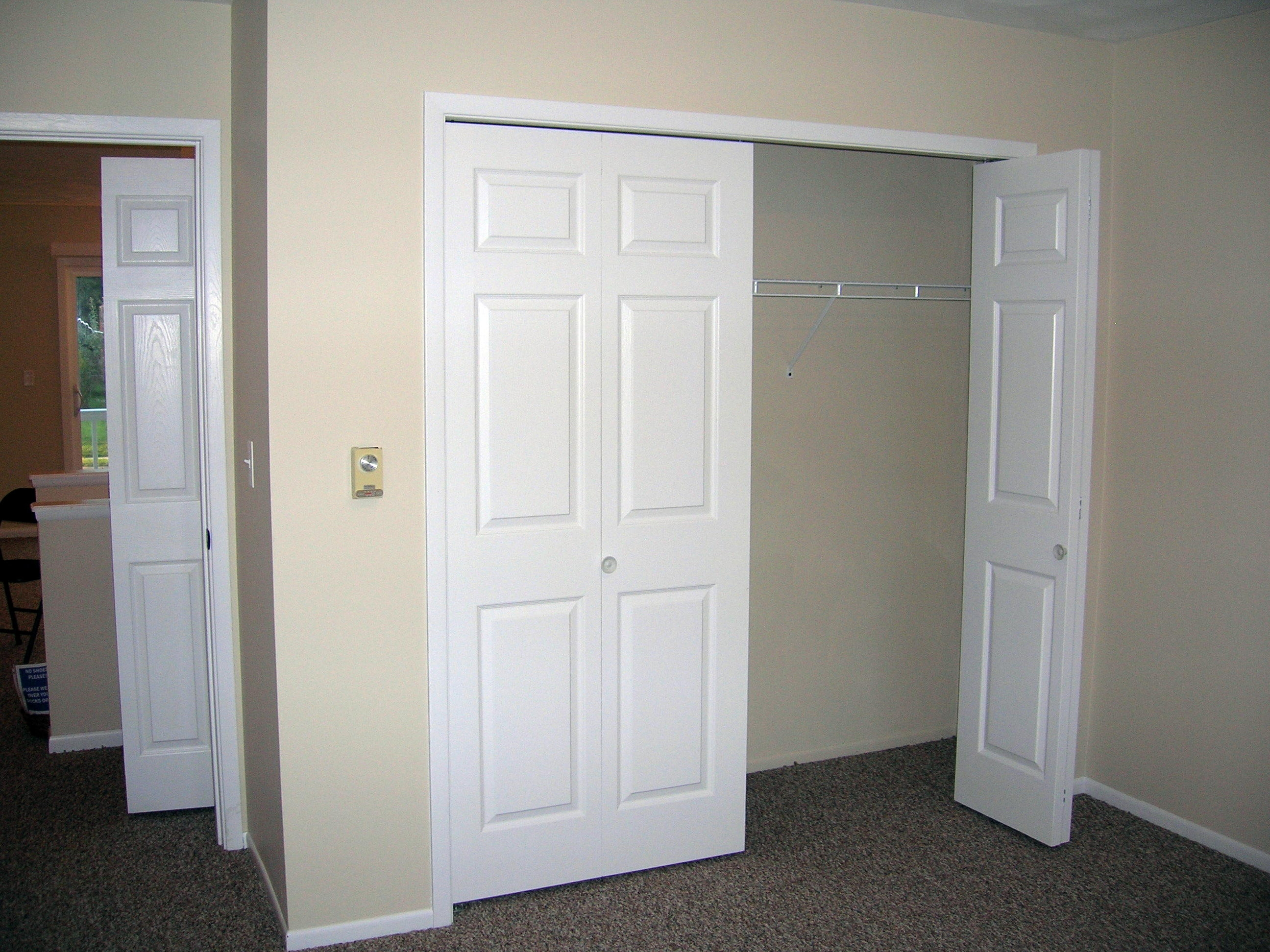 French Doors For Small Closet
