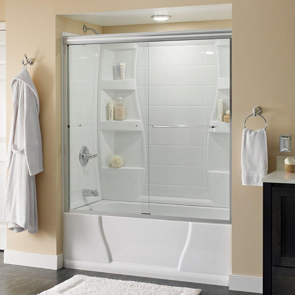 Glass Shower Doors On Tubs