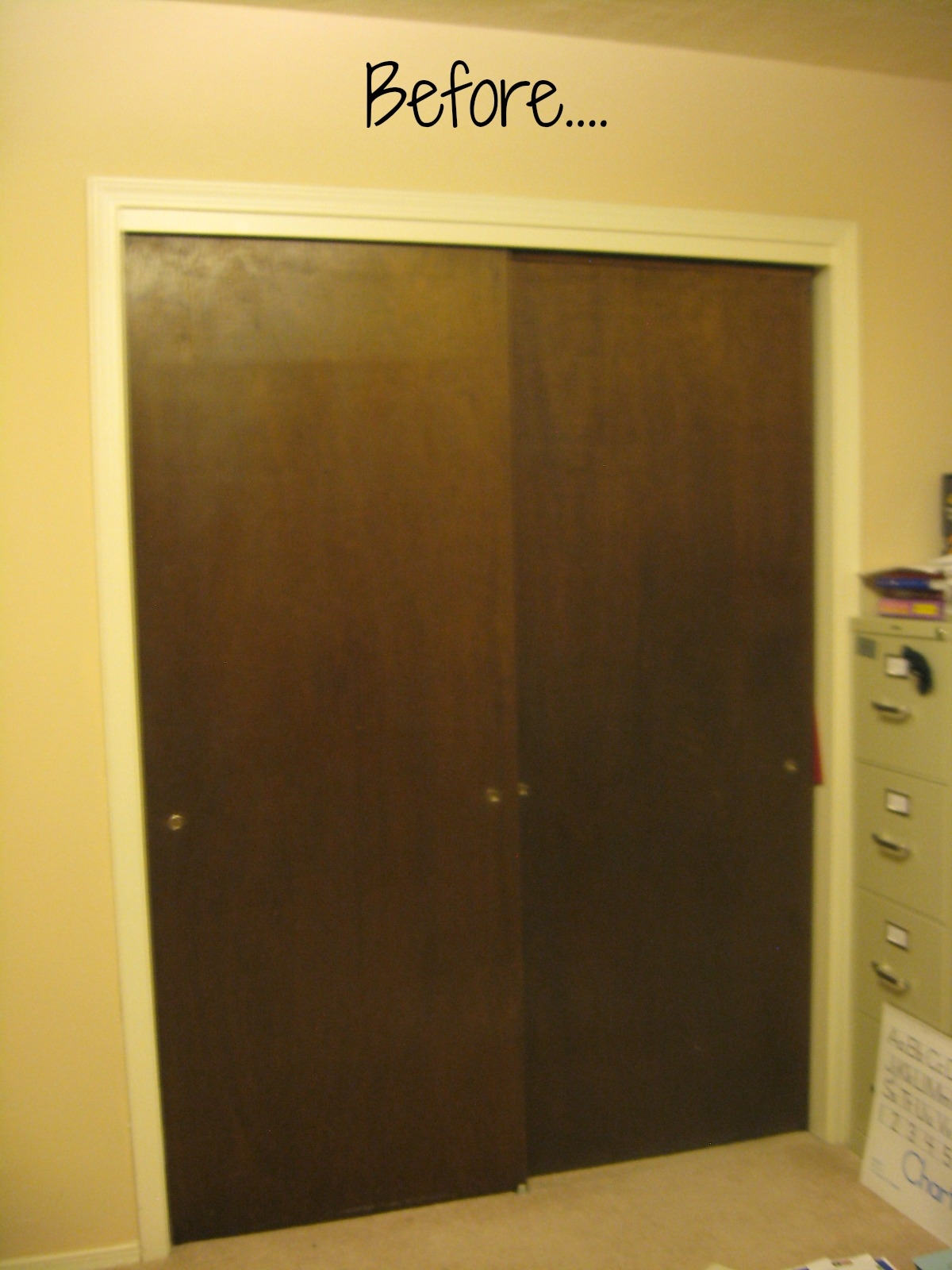 Ideas For Ugly Sliding Closet Doors1200 X 1600