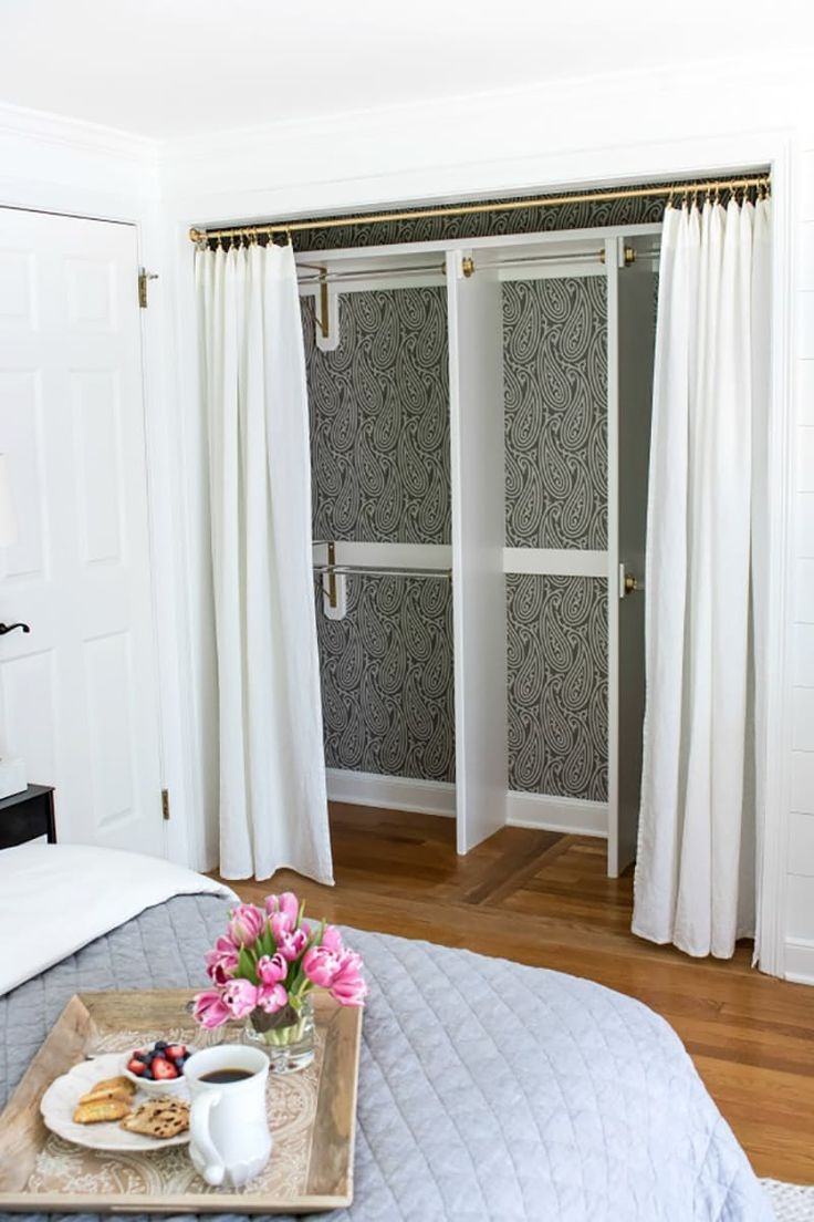 Ideas To Cover Closet Doors