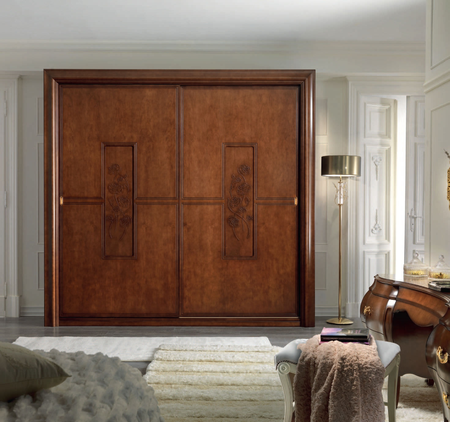 Large Wood Closet Doors