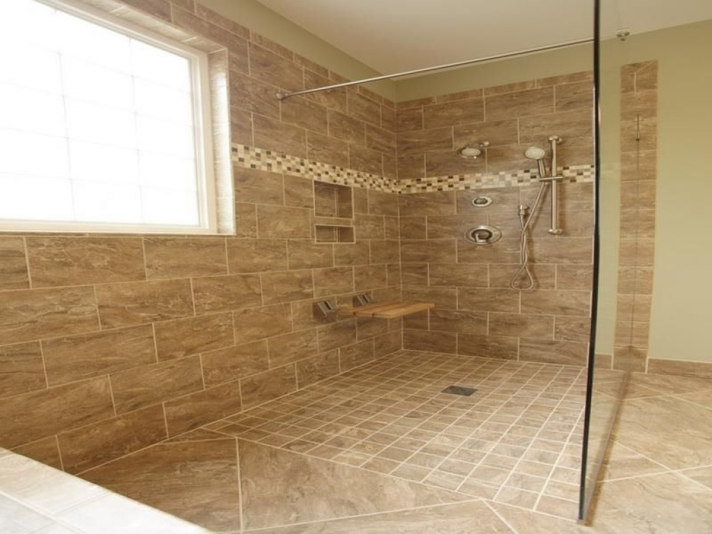 Pictures Of Shower Without Doors