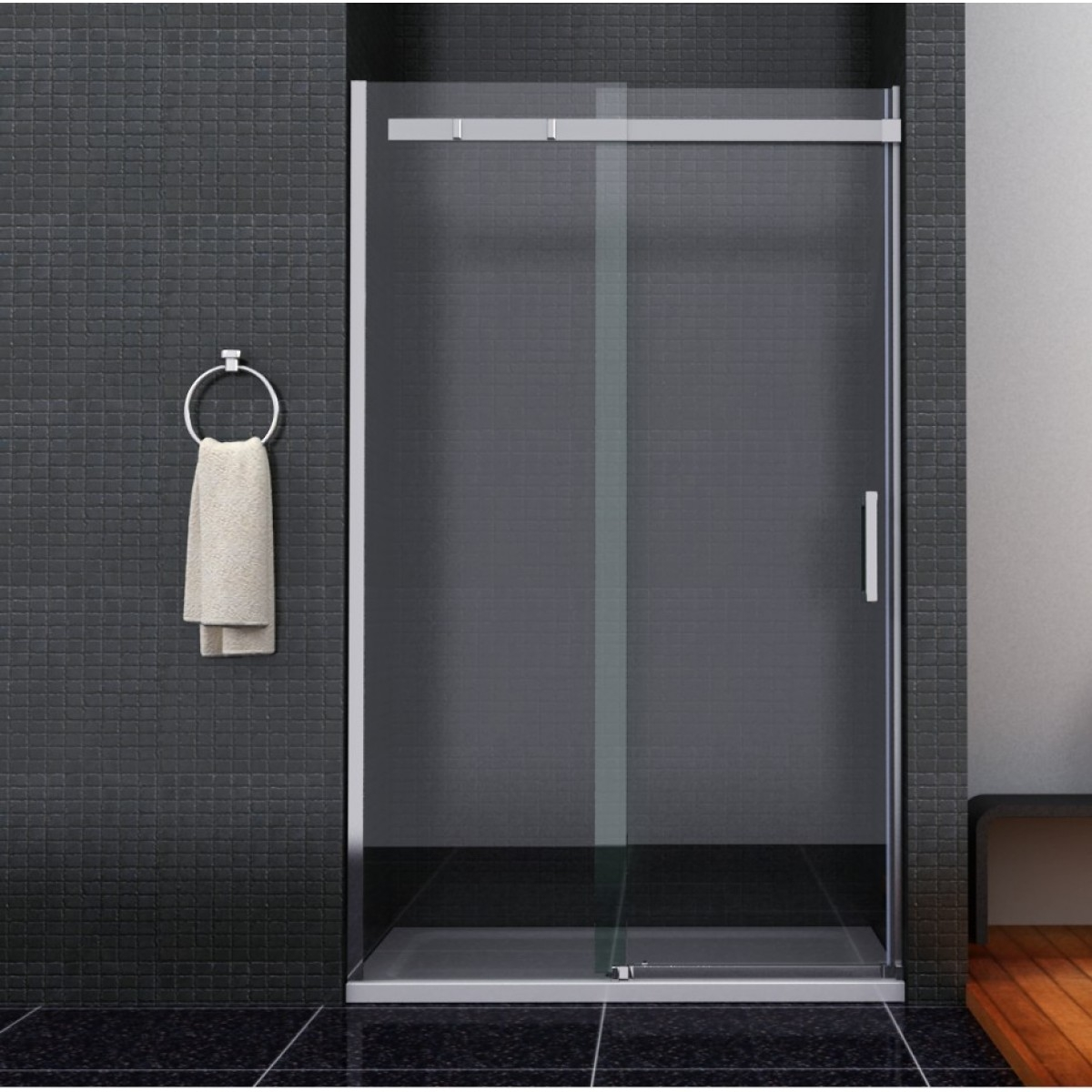 Shower Door Sliding 1200