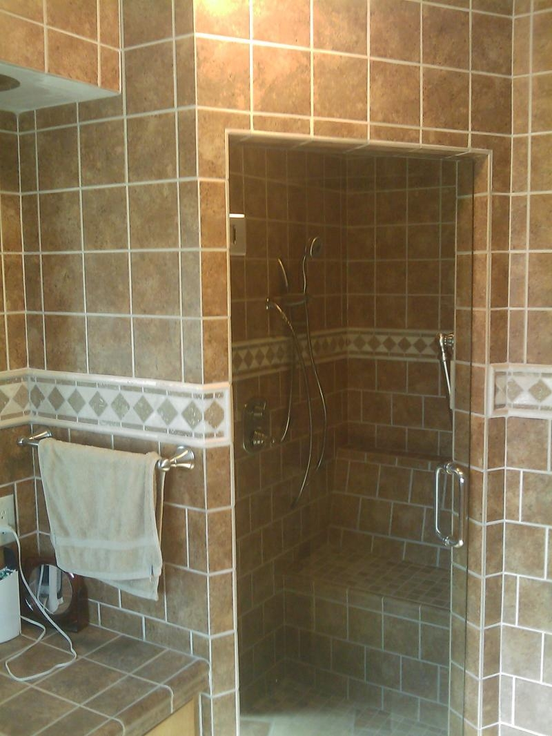 Shower Without Door Or Curtain
