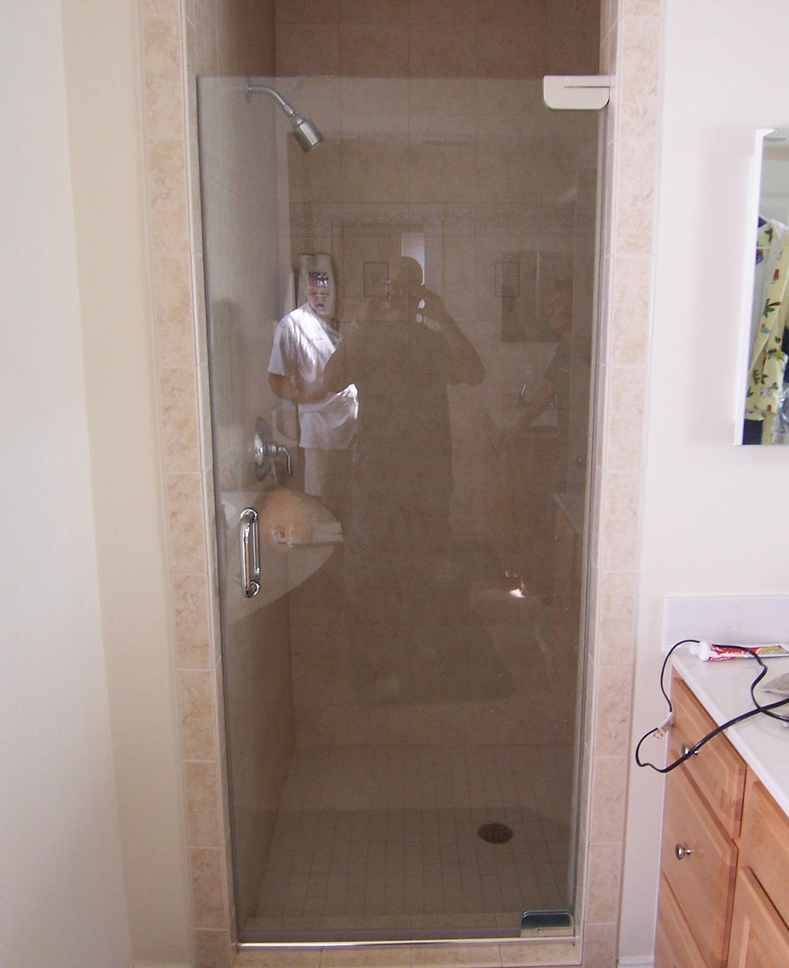 Single Frameless Glass Shower Doors Doors Ideas