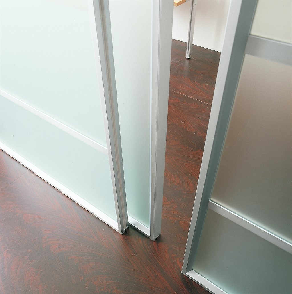 Bypass Closet Doors Without Bottom Track