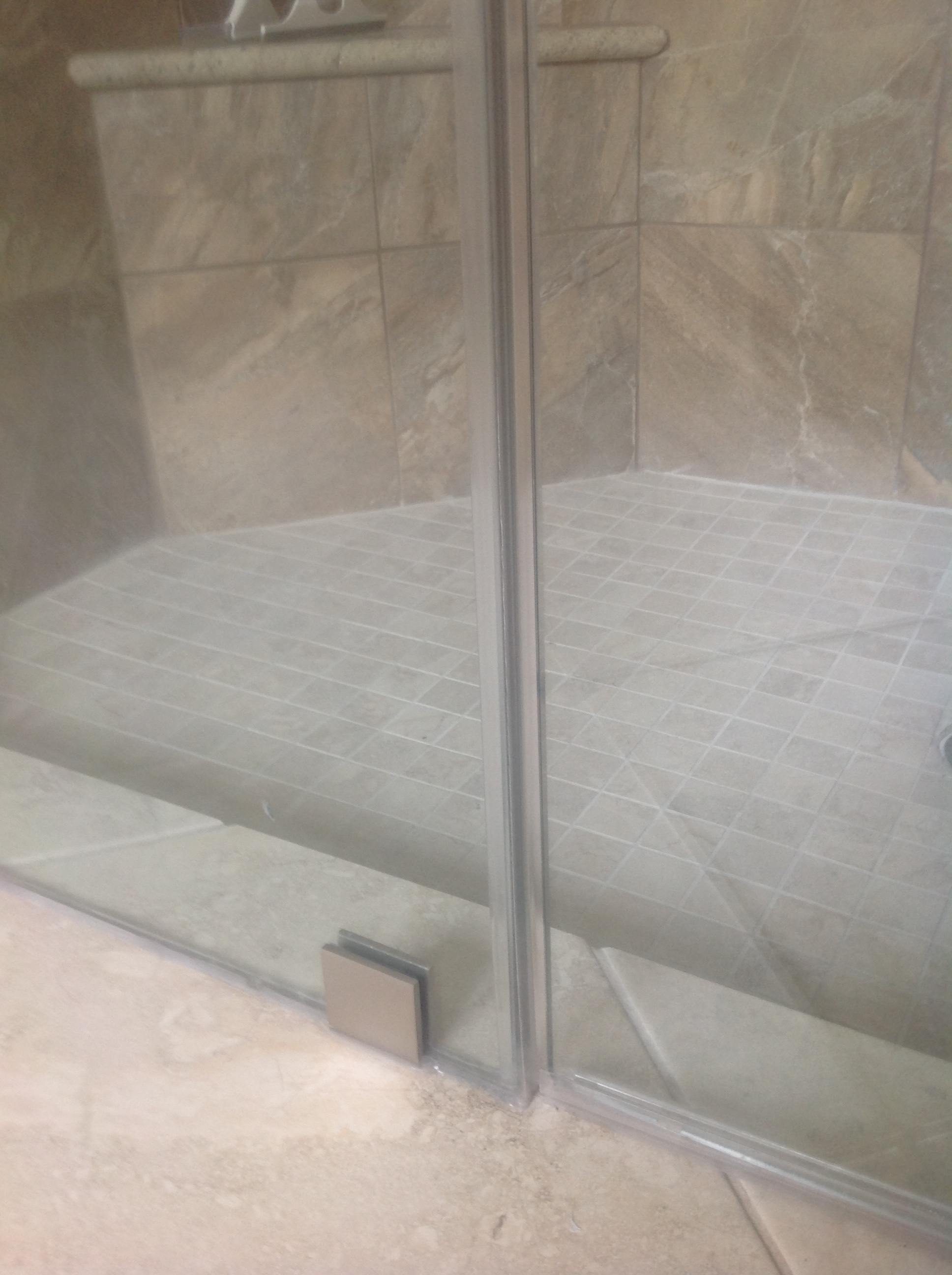 Caulking Frameless Shower Door
