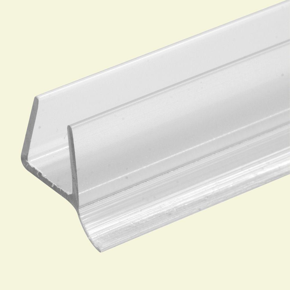 Clear Frameless Shower Door Bottom Seal