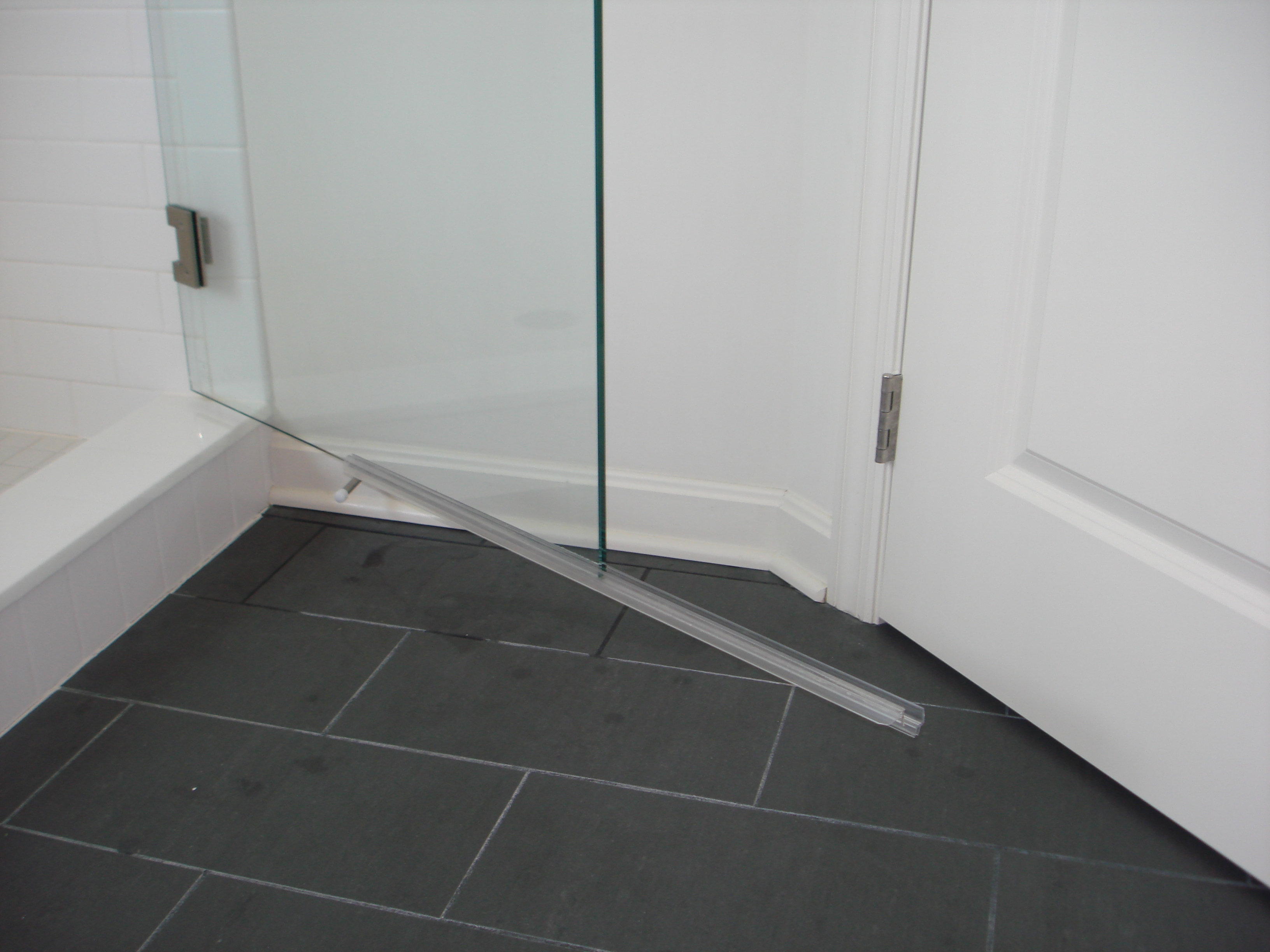 Frameless Shower Door Sweep Seal Doors Ideas