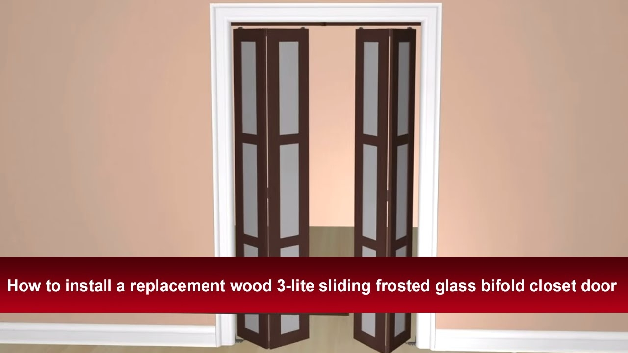 How to install bifold closet doors best varnish for kitchen cabinets