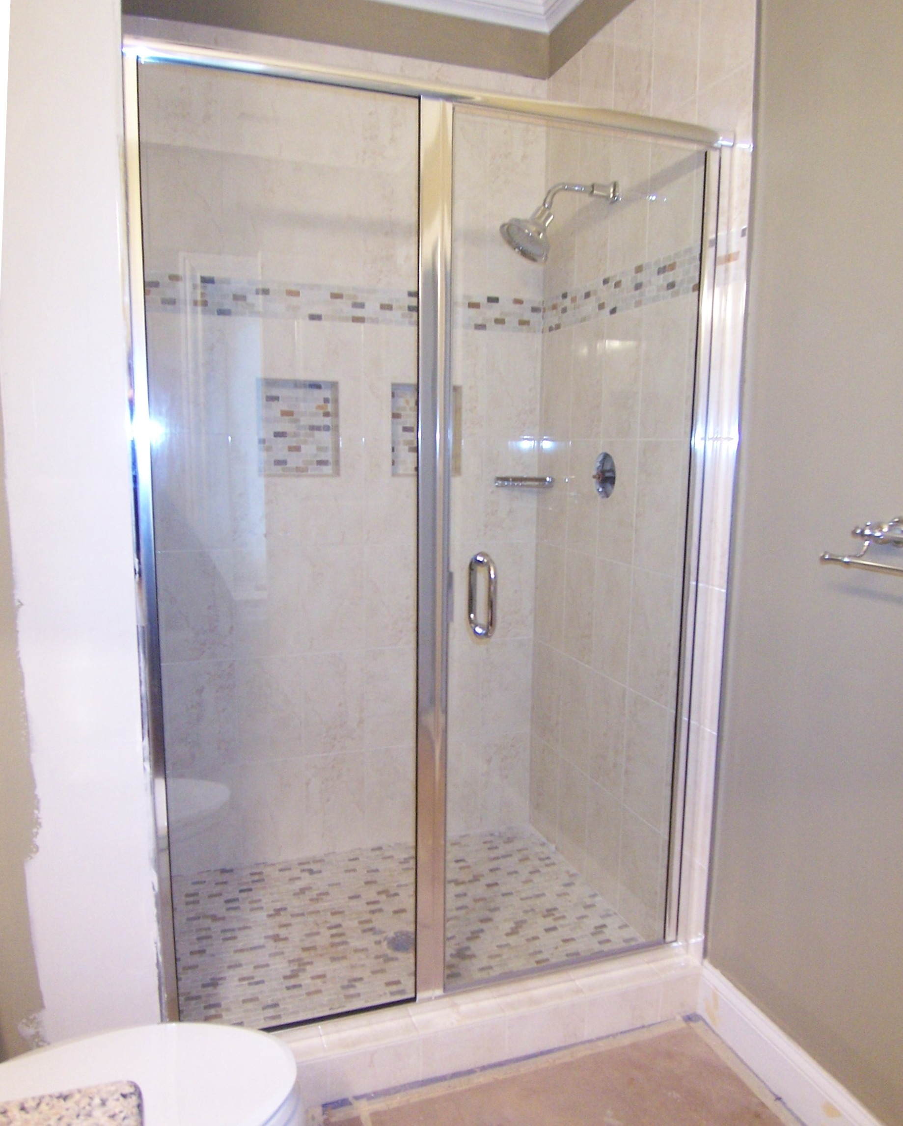 Semi Frameless Shower Door Adjustment
