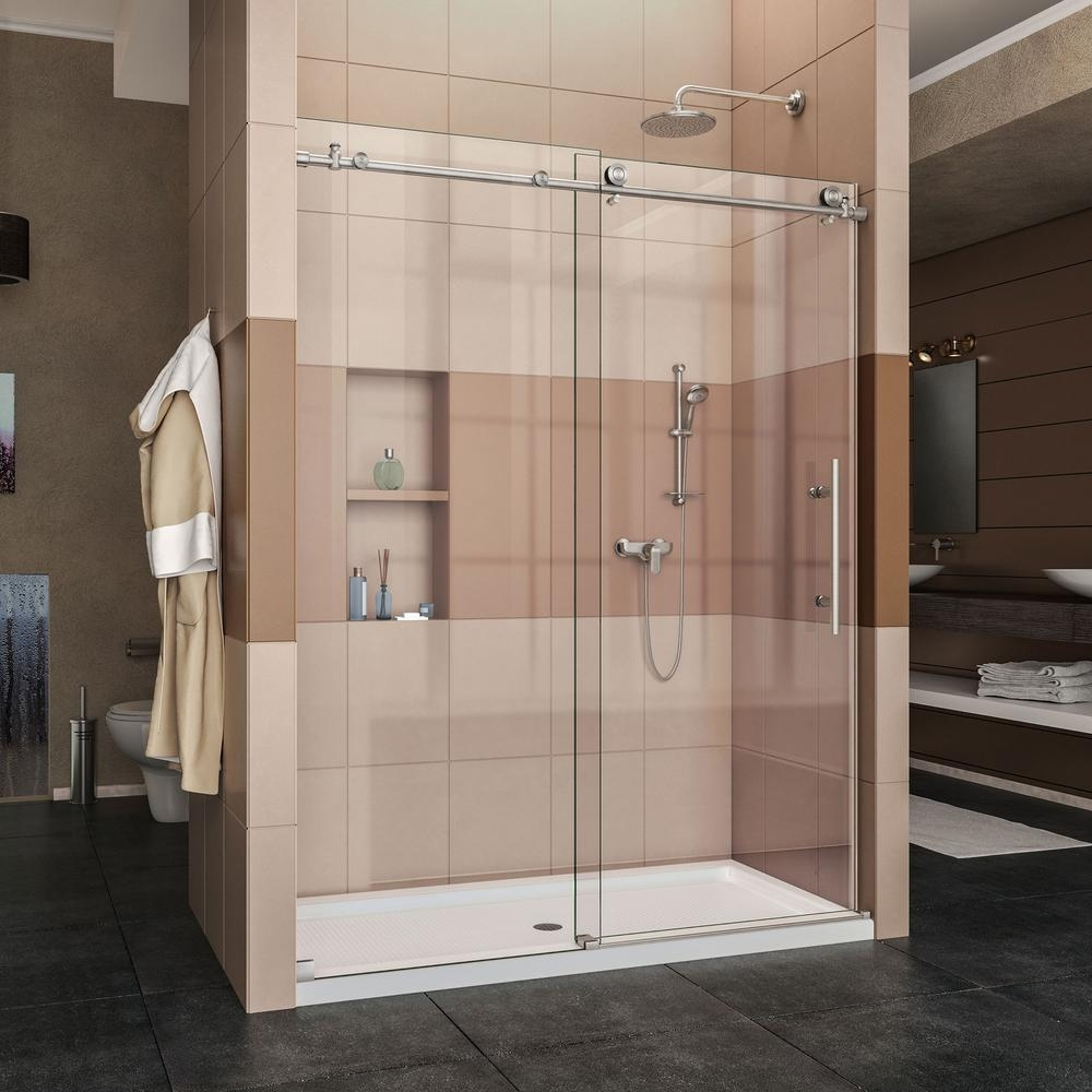 Sliding Shower Door Water Deflector