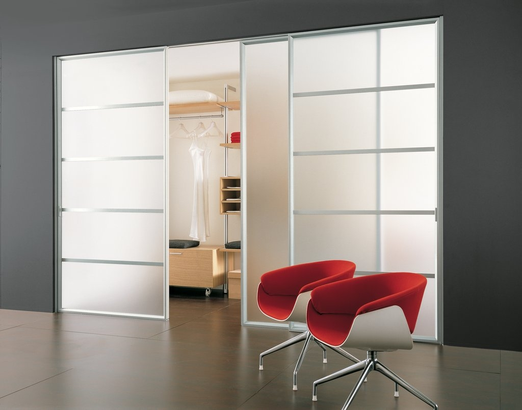 Wardrobe Closet Glass Sliding Doors