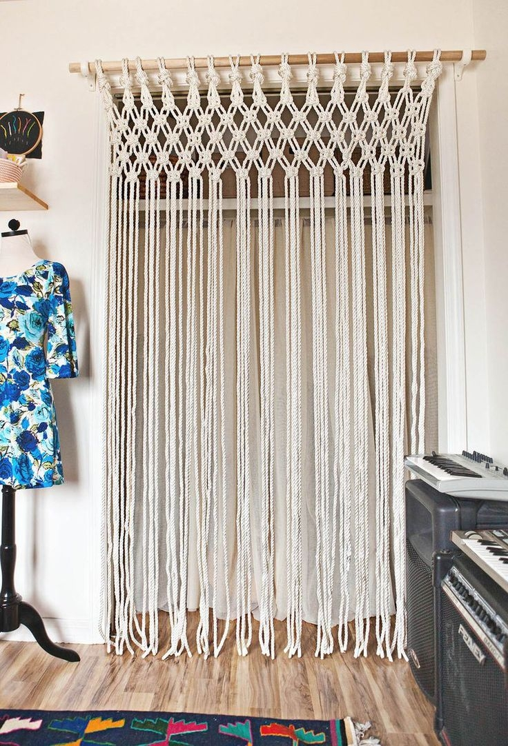 Beaded Closet Door Curtains